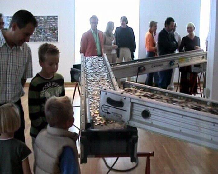 Museum Goch, Eröffnung der Ausstellung VALUTA, Roland Fuhrmann
