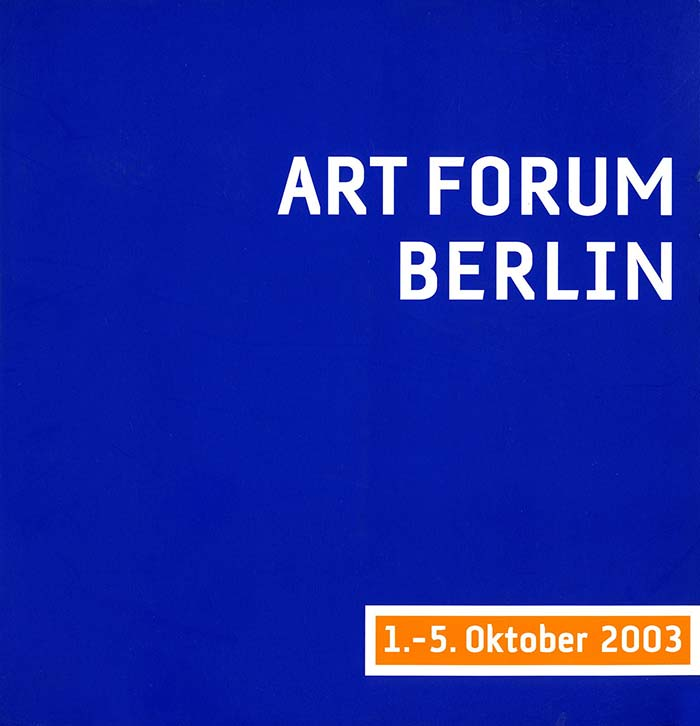 ART FORUM BERLIN