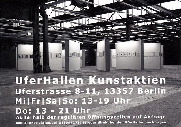 Kunstaktien, Uferhallen Berlin