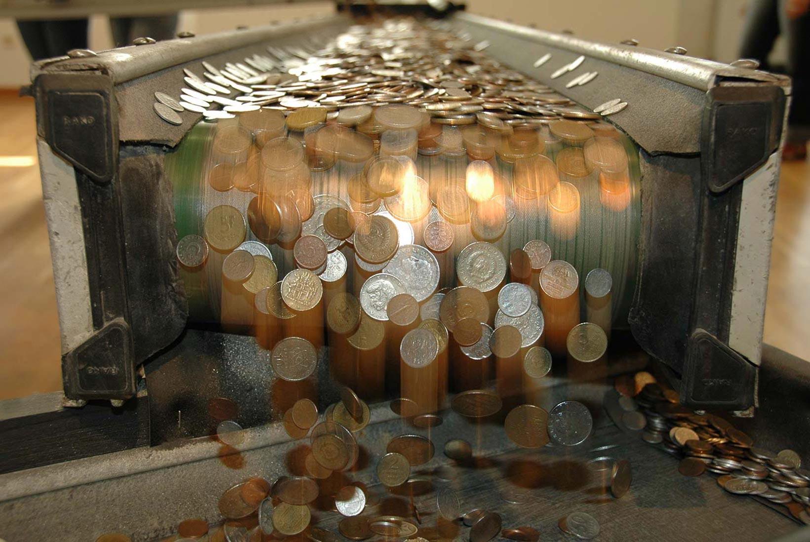 VALUTA – 100 kg Weltgeld