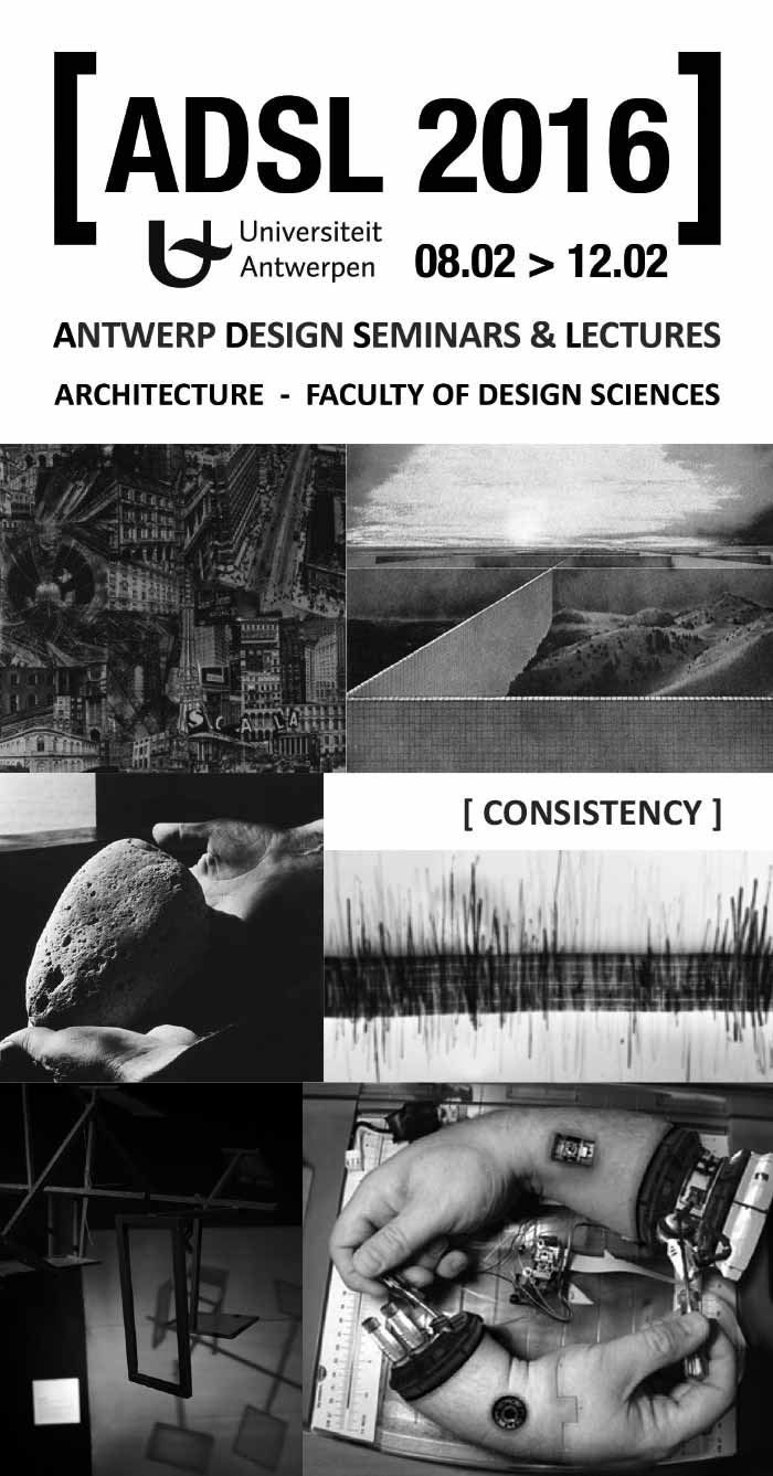 ANTWERP DESIGN SEMINARS & LECTURES (ADSL) 2016