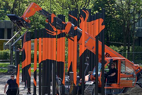 Roland Fuhrmann, Kunst am Bau