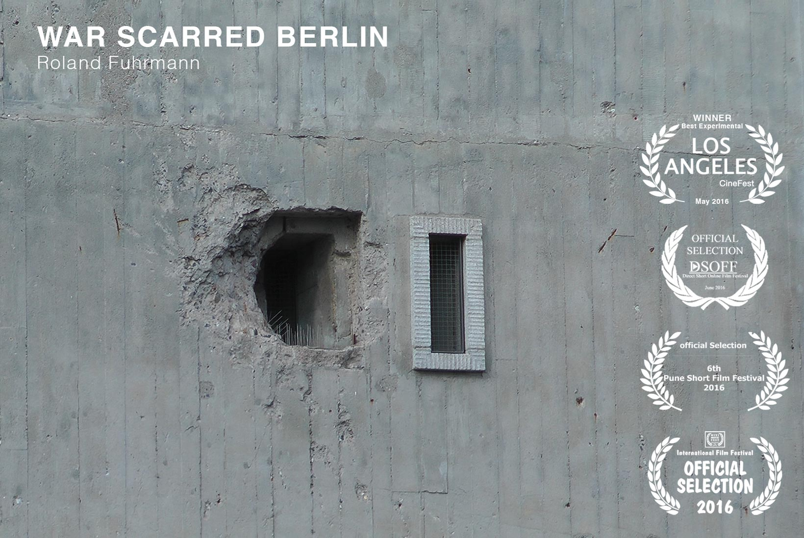WAR SCARRED BERLIN, Roland Fuhrmann