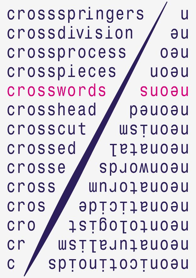 Crosswords 3, Galerie Jourdan/Seydoux, Berlin-Mitte