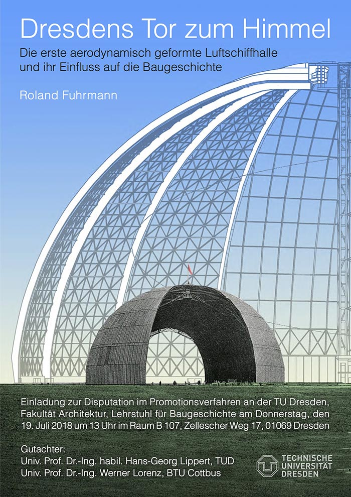 Disputation, Fak. Architektur an der TU Dresden