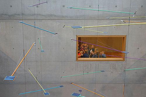 Kunst am Bau im Atrium des Burg-Gymnasiums Schorndorf