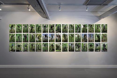 Palombières, art photo series